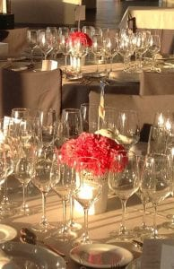 Decoración de mesas en banquetes de boda Club Nàutic Ciutadella de Menorca