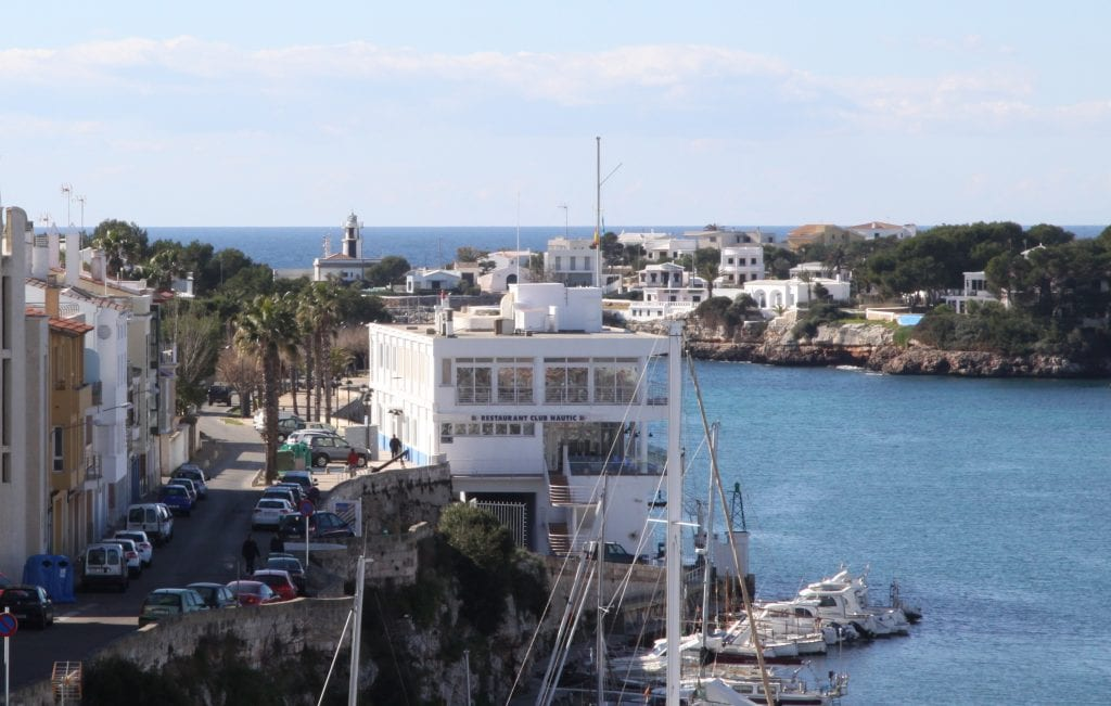 Vista general del Club Nàutic Ciutadella