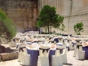 Banquete de boda en Menorca