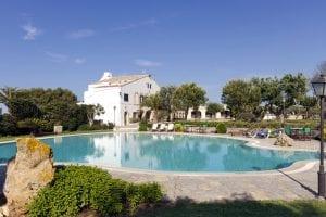 Panorámica piscina Biniatram
