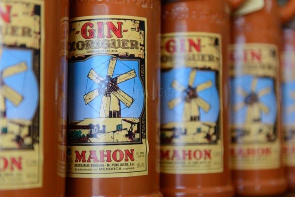 Botellas Gin Xoriguer