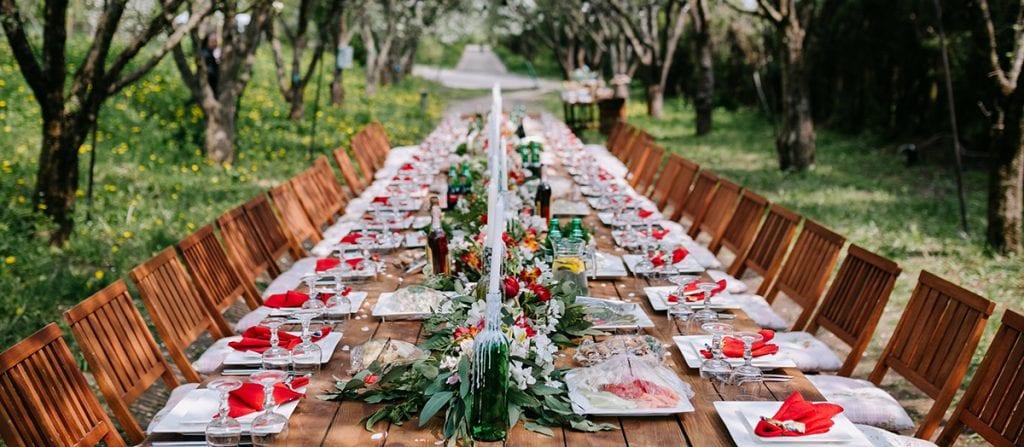 Tendencias en mesas de boda Mol Des Comte Asador Menorca