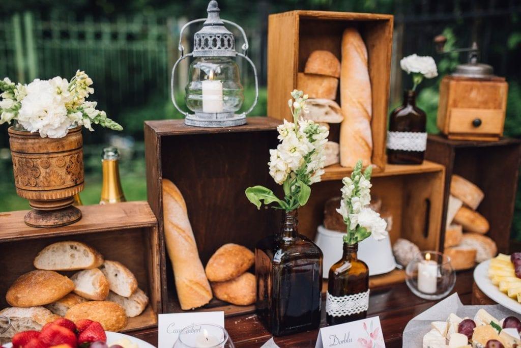 una boda con desayuno en menorca