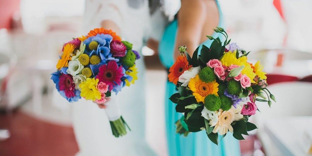 tendencia flores para bodas en Menorca