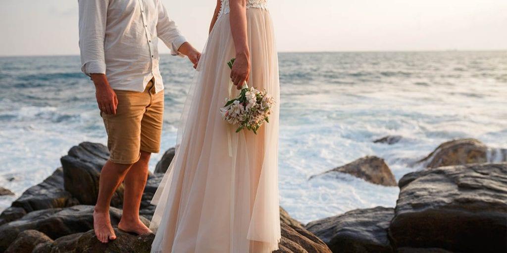 bodas en el mar