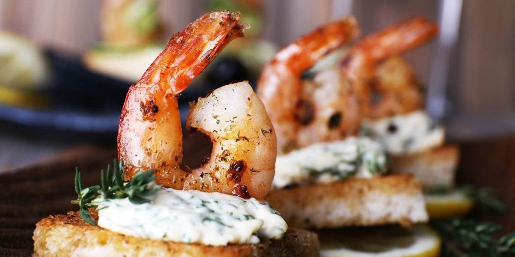 ideas de comida para bodas