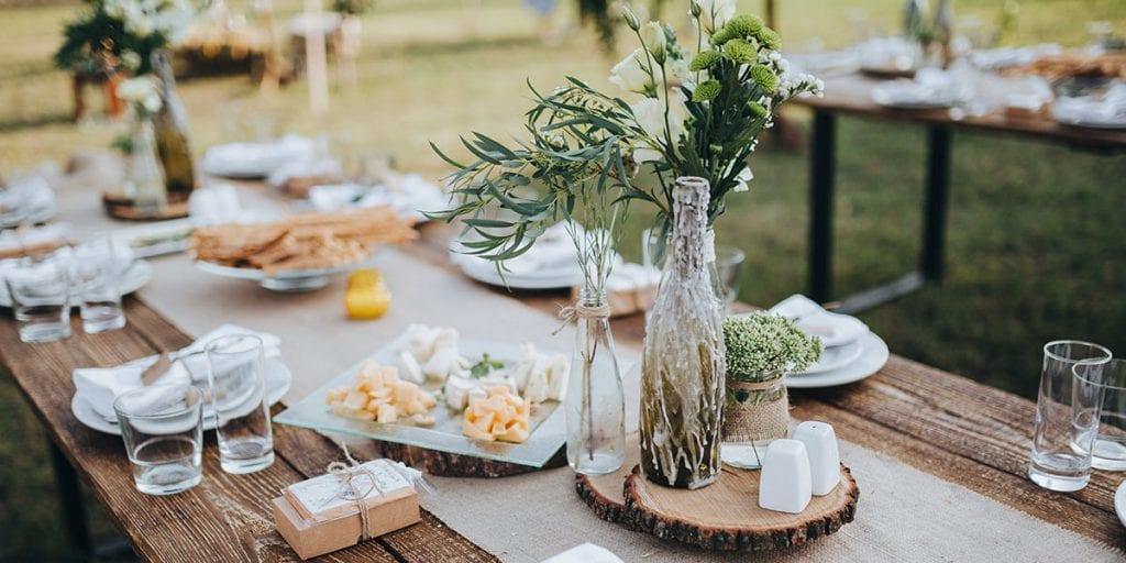 Decoracion para bodas mediterraneas