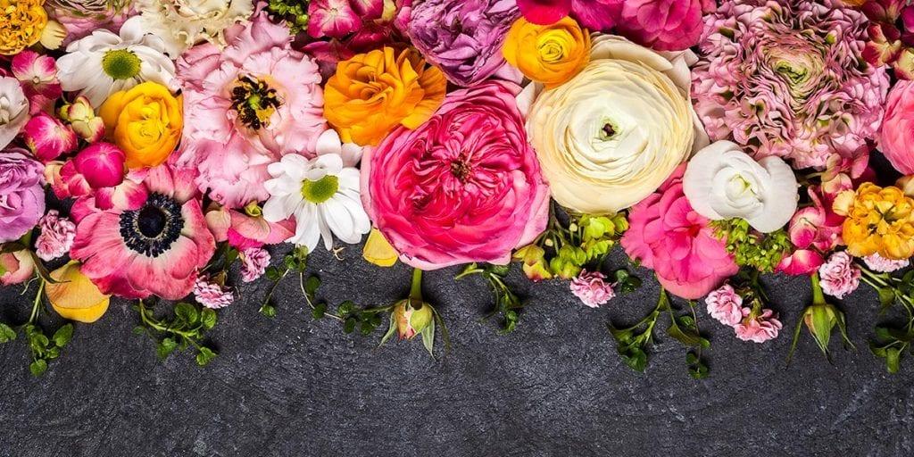 flores decoracion fiesta de verano en Menorca
