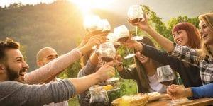 Catering con maridaje de vinos en Menorca