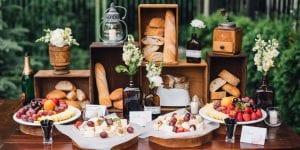 aperitivo para bodas en Menorca