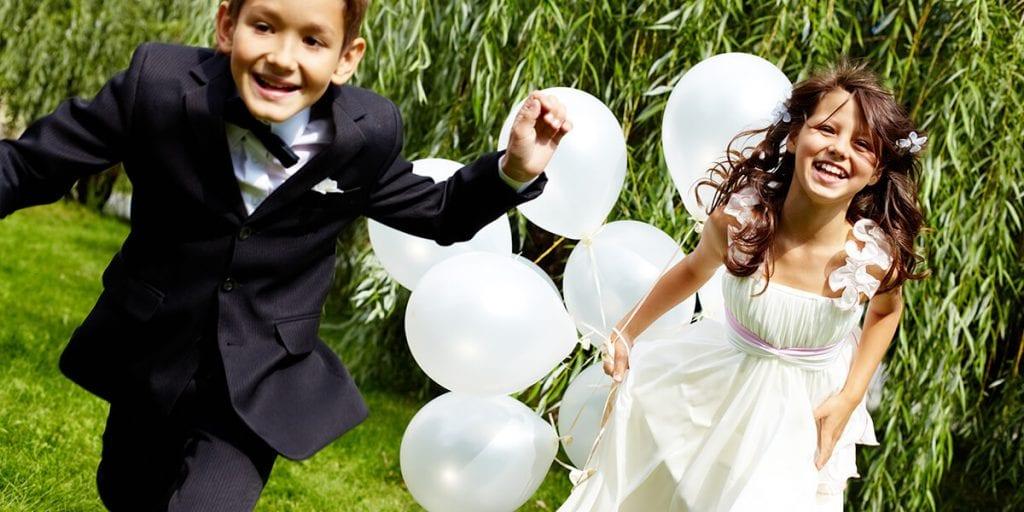 Juegos para niños en bodas