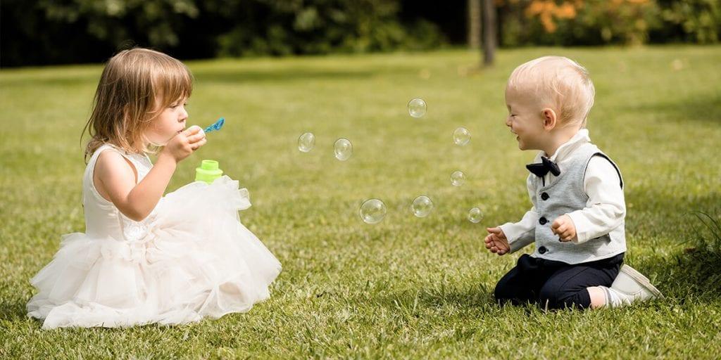 Qué regalar a los niños en las bodas