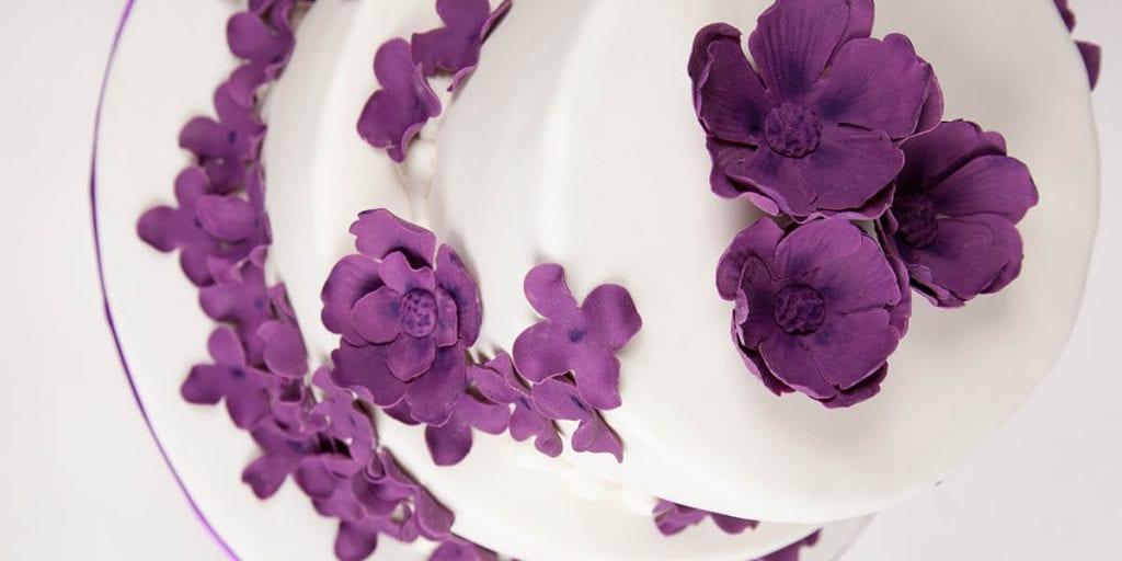 tartas bodas Ultra Violet