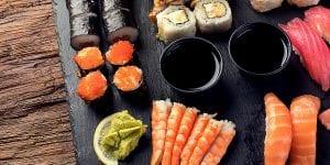 Sushi variado para sorprender a tus invitados en Menorca