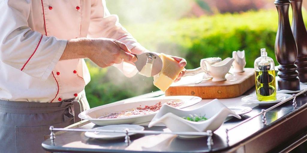Show cooking para el catering de tu boda en Menorca