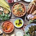Un auténtico catering libanés en Menorca