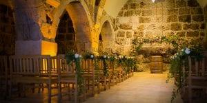 Escoge un lugar de celebración acorde con el estilo de tu boda medieval