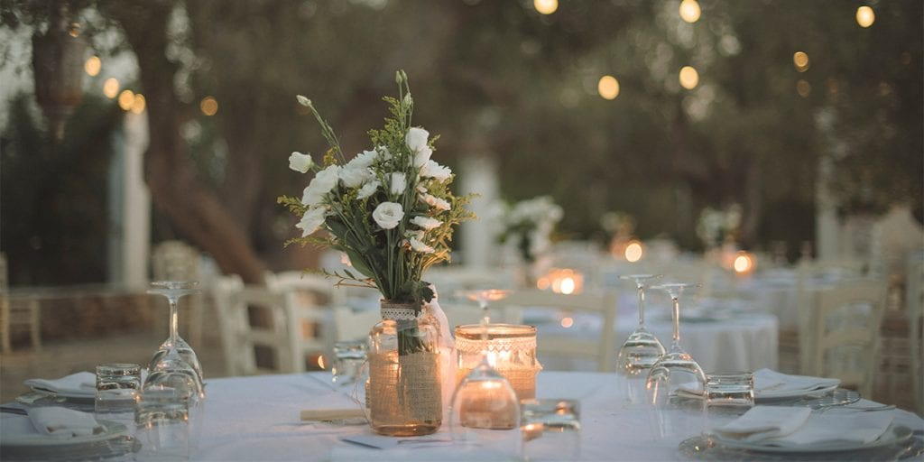 Durante el banquete, tus invitados gozarán con los sabores más mediterráneos