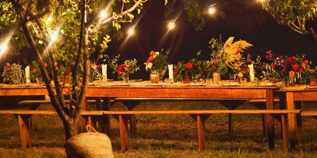 El menú de la cena será ligero y fresco, para que la gente se sienta con ganas de continuar la fiesta