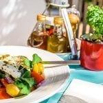 Un catering griego en Menorca