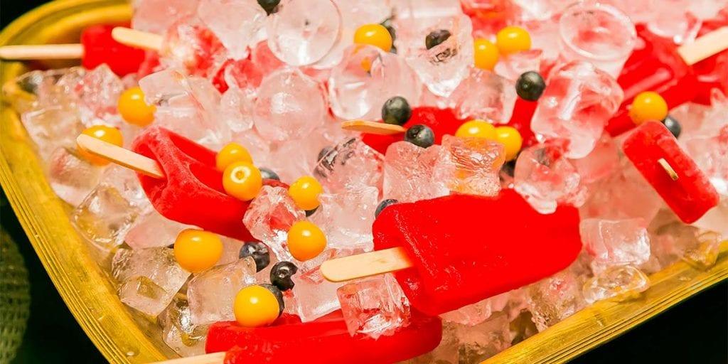 ¡Helado como aperitivo! La forma perfecta de empezar un evento en Menorca cuando el sol aún aprieta, y tus invitados se mueren por echarse algo fresquito a la boca.