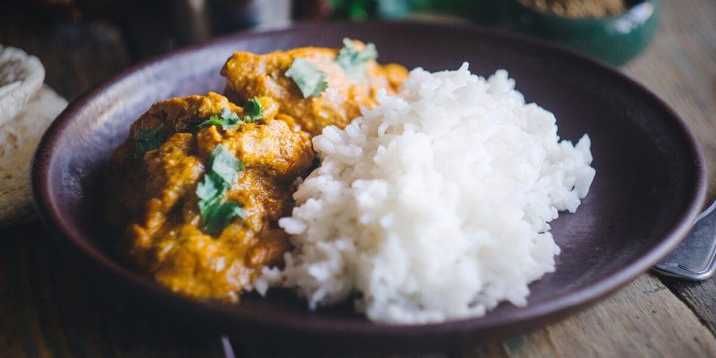 Pollo tikka massala, un clásico que no puede faltar