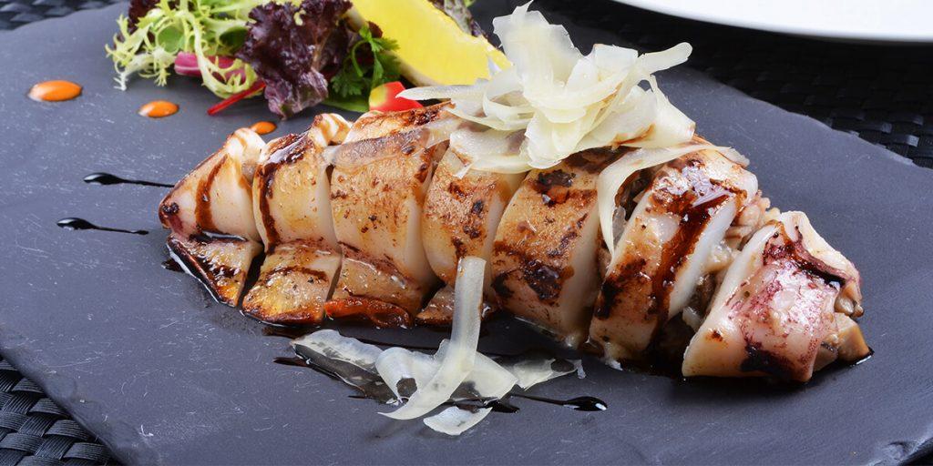 Clamares rellenos de nuestro catering en Menorca