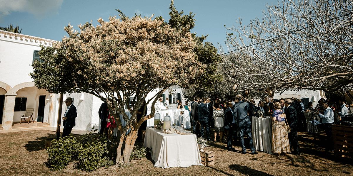 Celebra una boda única y especial en la finca Ses Quarterades en Menorca