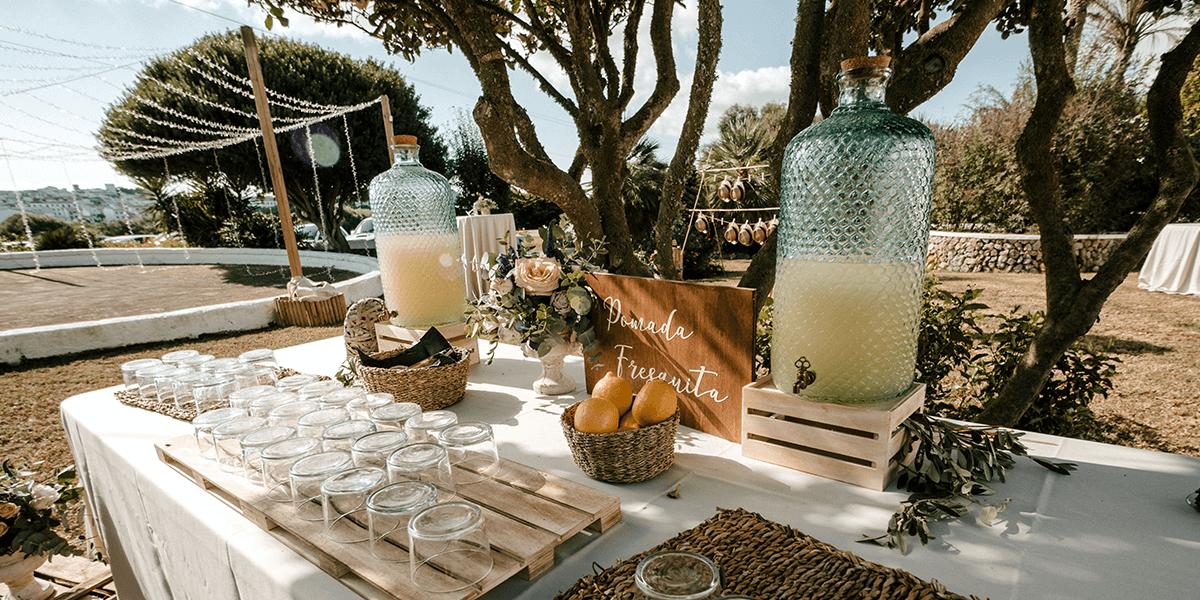 Conoce todos los detalles de la boda mediterránea en Menorca