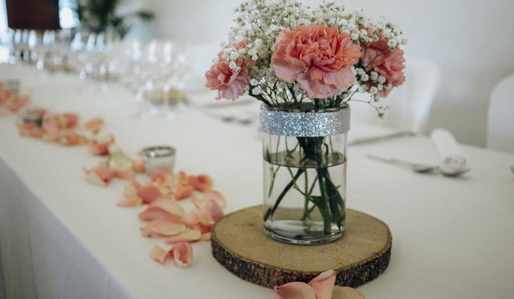Detalles decorativos para una boda otoñal