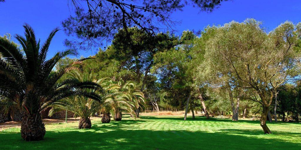 Jardines increbles para celebrar tu boda en Menorca