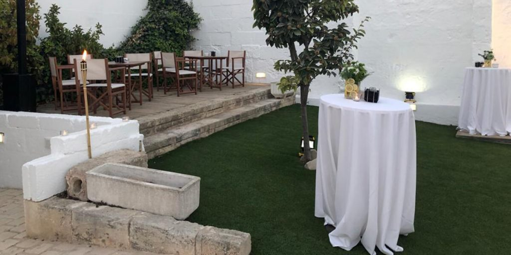 Celebra tu boda o evento en una terraza en menorca
